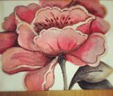 30x40 acrylics flower