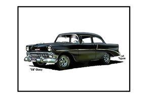 56 Chevy - Villastrations