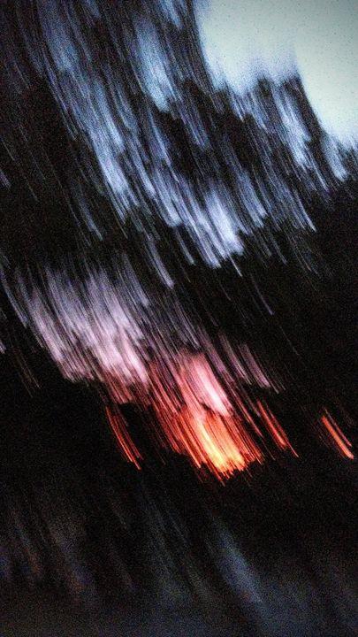 Sunrise Through The Trees -  Njnbyash