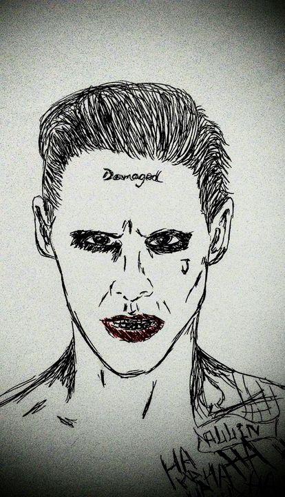 Jared Leto SS Joker -  Njnbyash