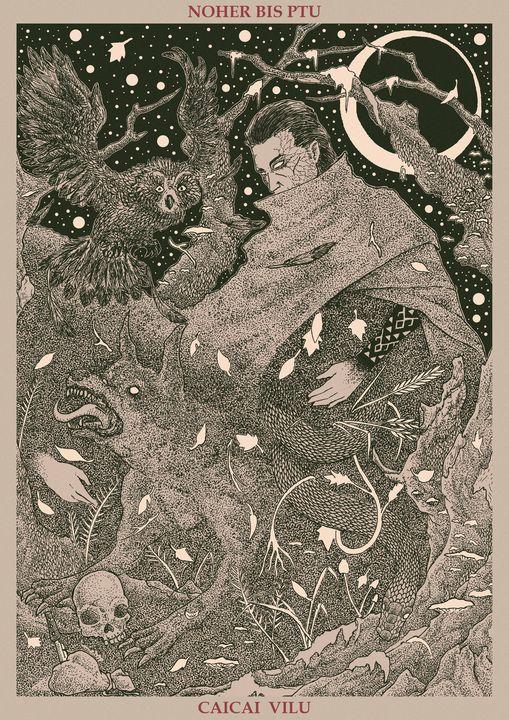 Noher Bis Ptu - Caicaivilu Illustration
