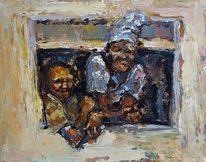New Neighbours - Fikile Mqhayi art world