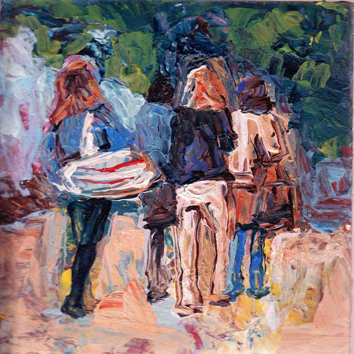Friends indeed - Fikile Mqhayi art world