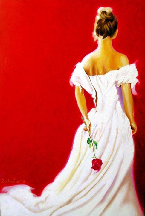 Red Rose - Pakistan Art Museum