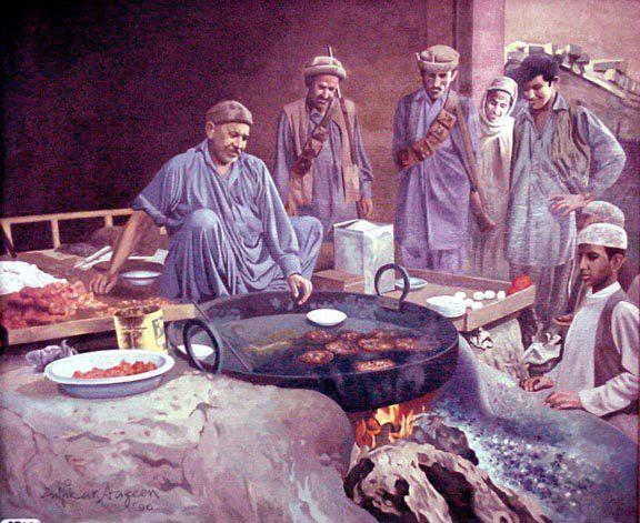 Chapli Kabab - Pakistan Art Museum