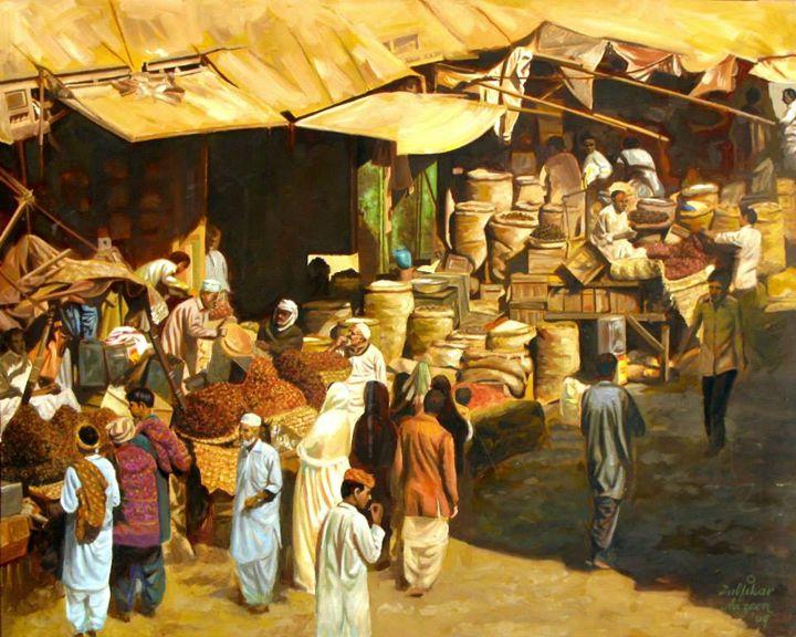 Karachi Market - Pakistan Art Museum