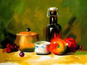 Still life painting 15