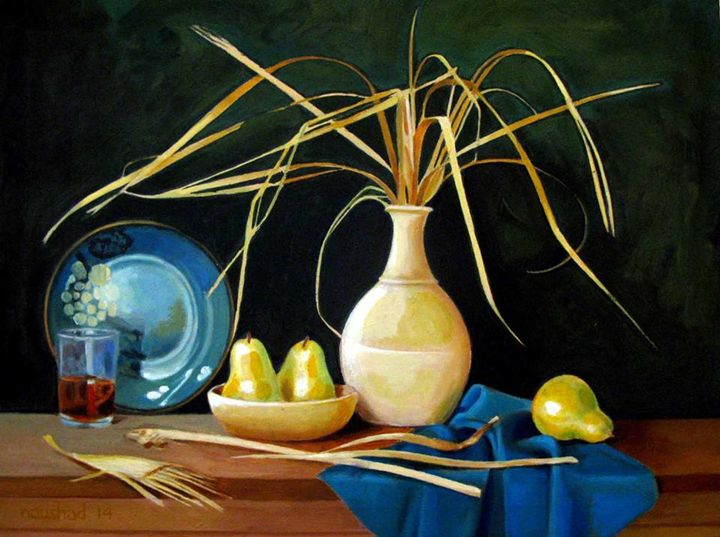 Still life painting 14 - Pakistan Art Museum