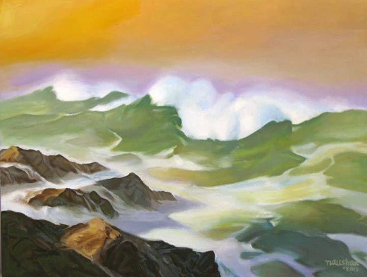 Seascape Painting 7 - Pakistan Art Museum