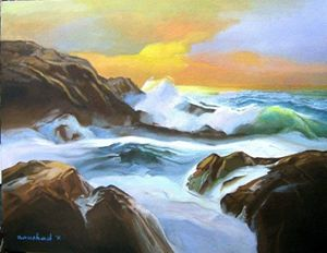 Seascape Painting 6
