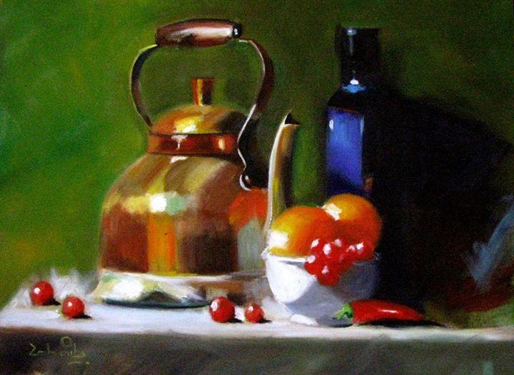 Still life painting 4 - Pakistan Art Museum