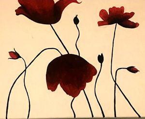 Bloody petals