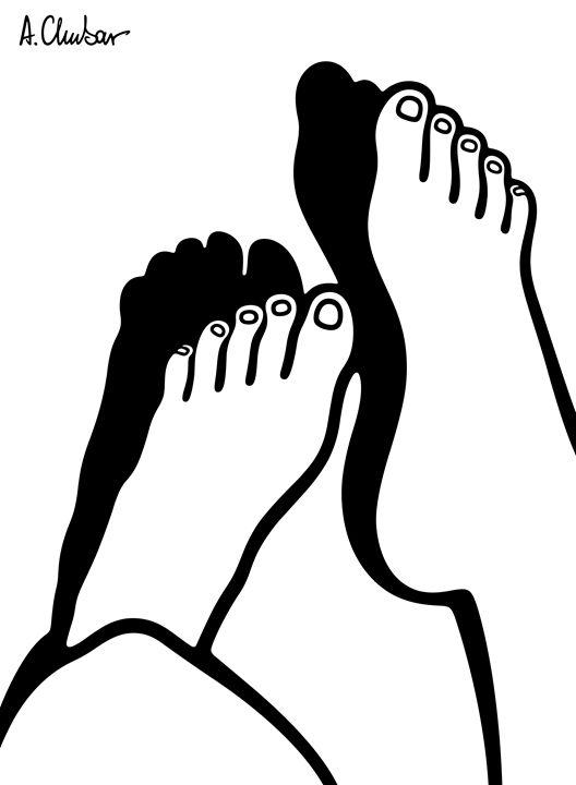Feet 4 - Alexander Chubar