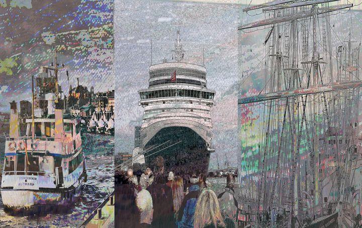 Hafen Collage - Peter Norden