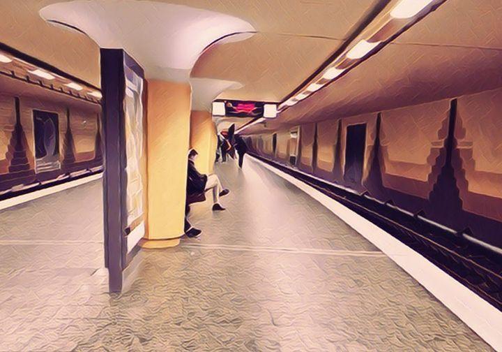 U Bahn Meßberg - Peter Norden