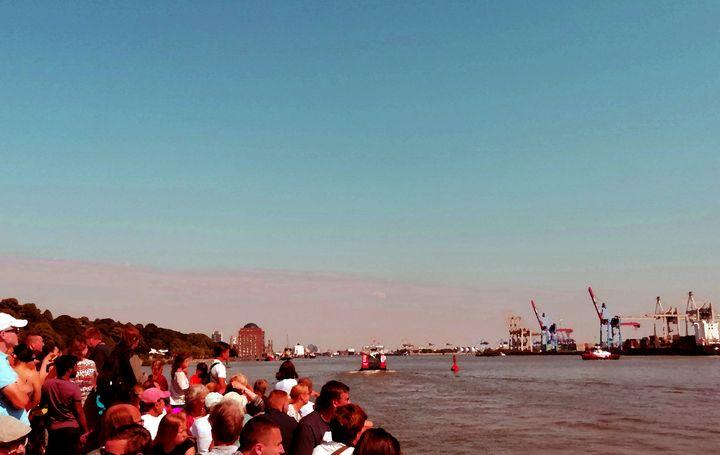 Ausflug an die Elbe - Peter Norden