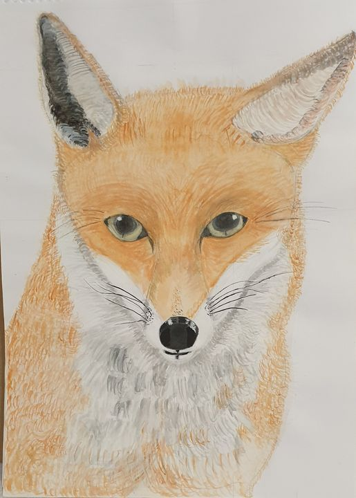 The foxs eyes by S.M.Croucher - Shazs Lockdown creations