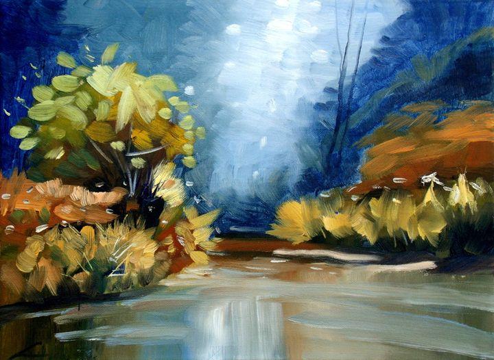 Up the Creek - Elena Sokolova art