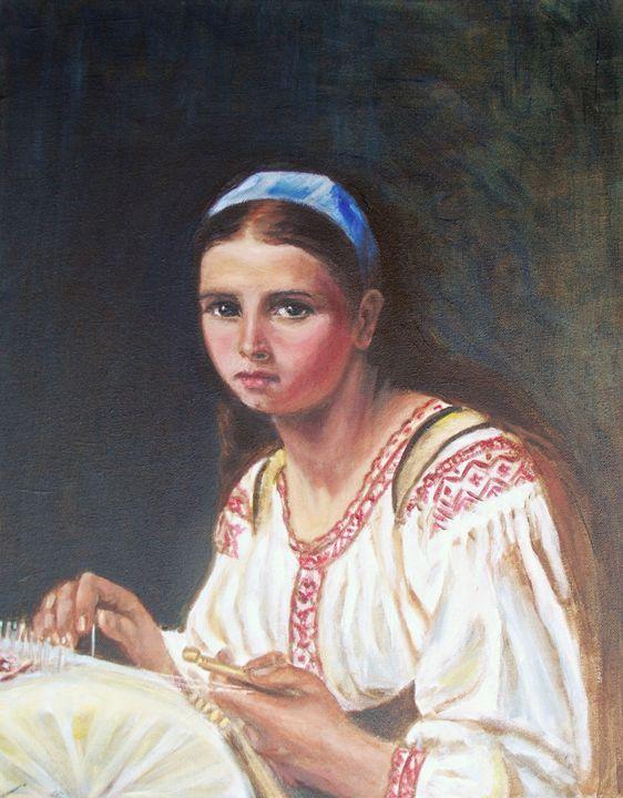 Lacemaker - Elena Sokolova art