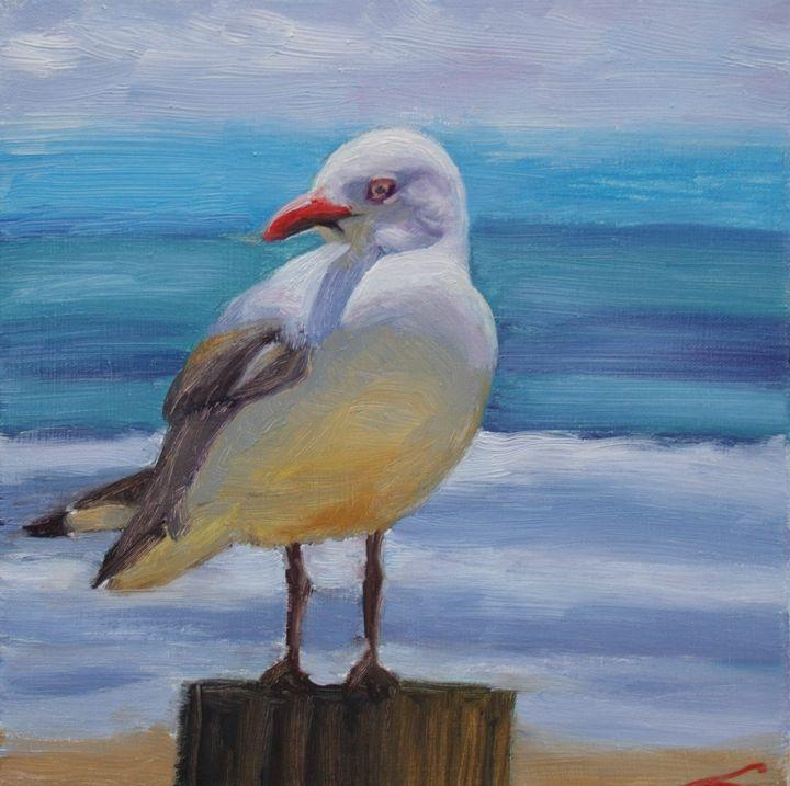 Sea Gull - Elena Sokolova art