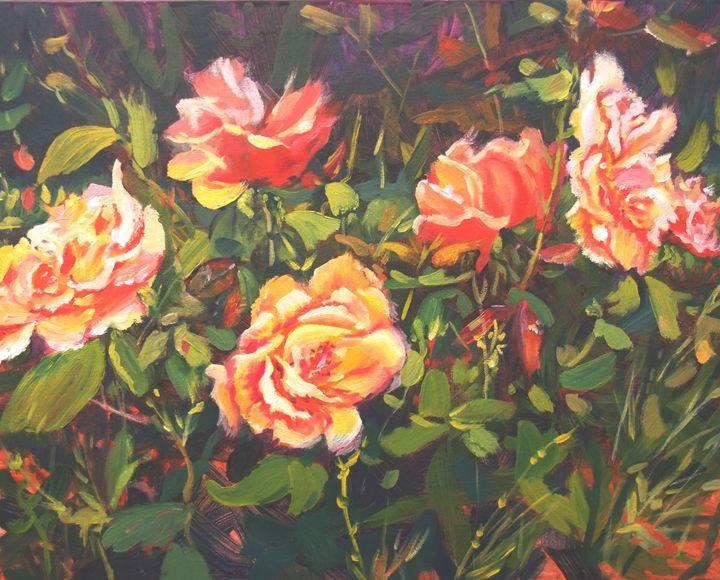 Roses - Elena Sokolova art