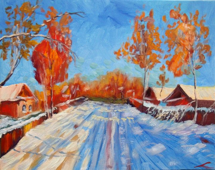 Bright day - Elena Sokolova art