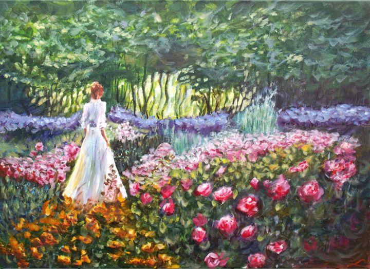 Roses dream - Elena Sokolova art