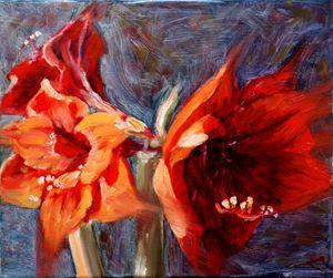 Amaryllis - Elena Sokolova art