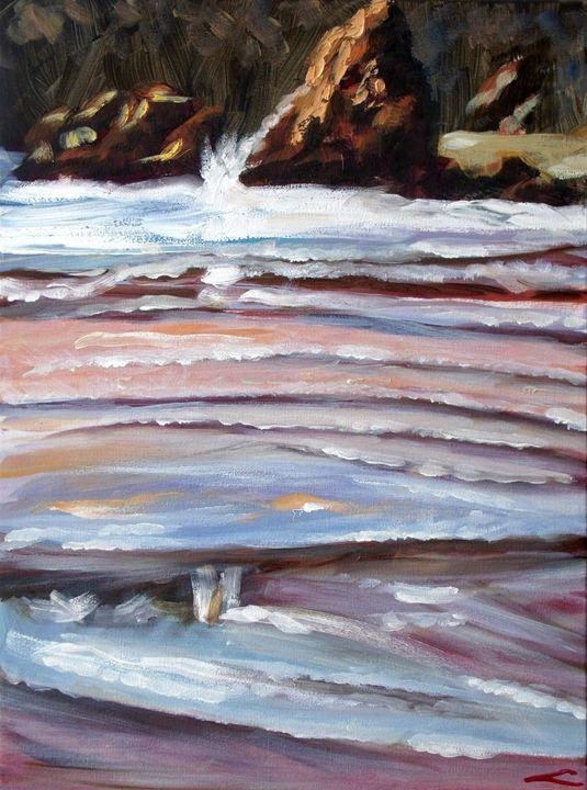 Shallow water - Elena Sokolova art