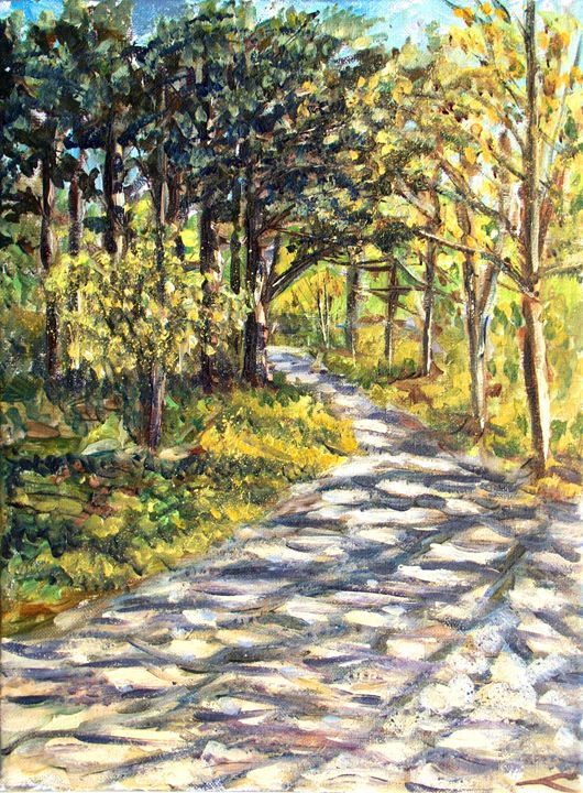 Spring forest 2 - Elena Sokolova art