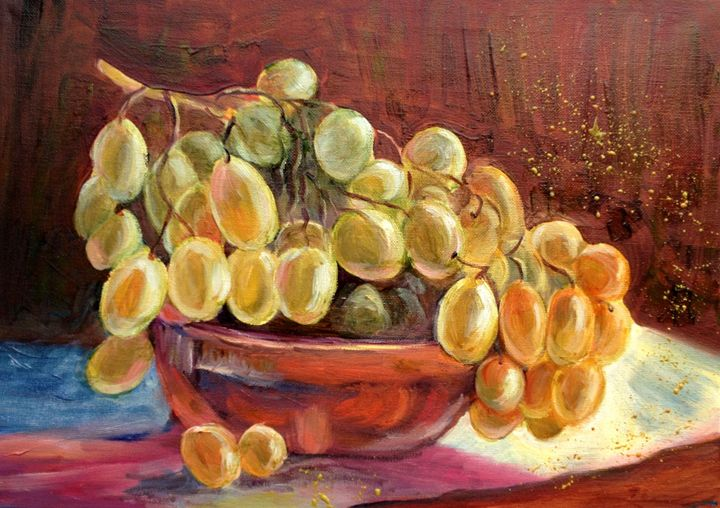 Grapes - Elena Sokolova art