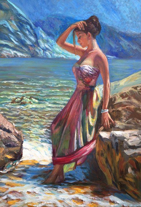 Hot day - Elena Sokolova art
