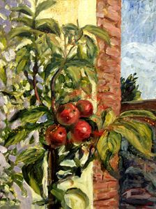 Small apple tree - Elena Sokolova art
