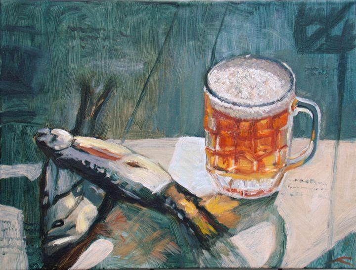 Still life for men - Elena Sokolova art