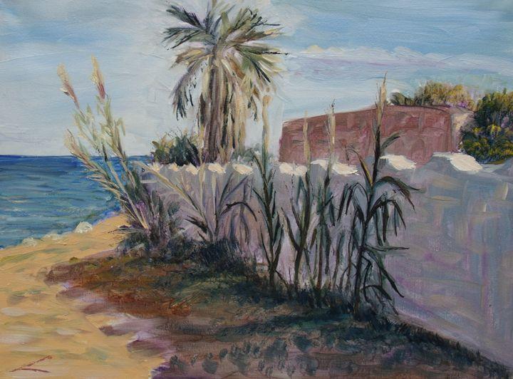 Sicilian landscape - Elena Sokolova art