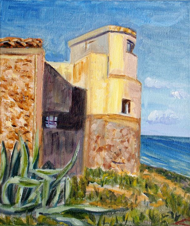 Calabernardo sea museum - Elena Sokolova art