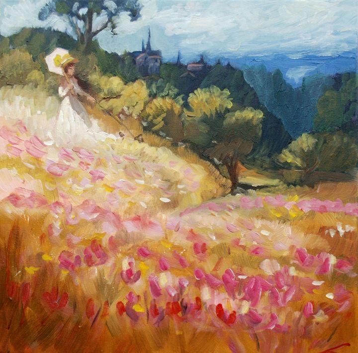 Tuscany dream - Elena Sokolova art