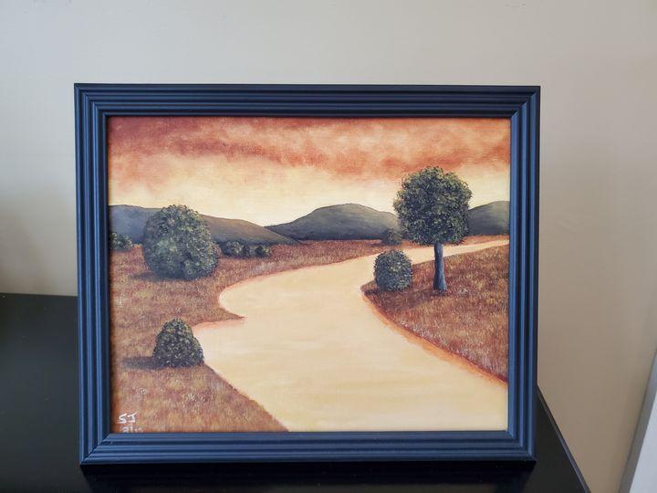 River of Gold - Steve Joseph Landscape Art
