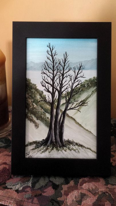 Winter Tree - Steve Joseph Landscape Art