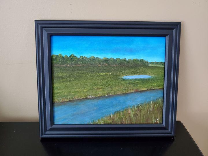 Lieutenants Island, Wellfleet, MA - Steve Joseph Landscape Art