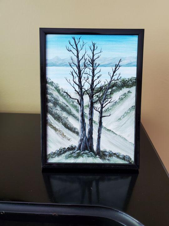 Winter Tree #2 - Steve Joseph Landscape Art