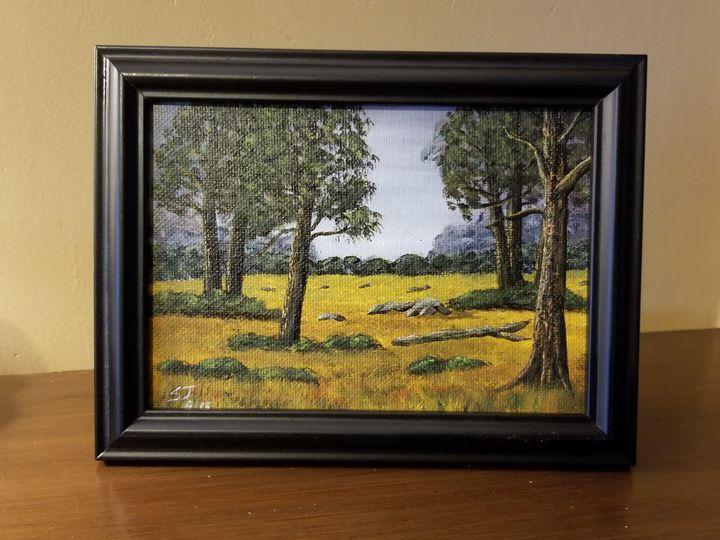 Walk in the Woods - Steve Joseph Landscape Art