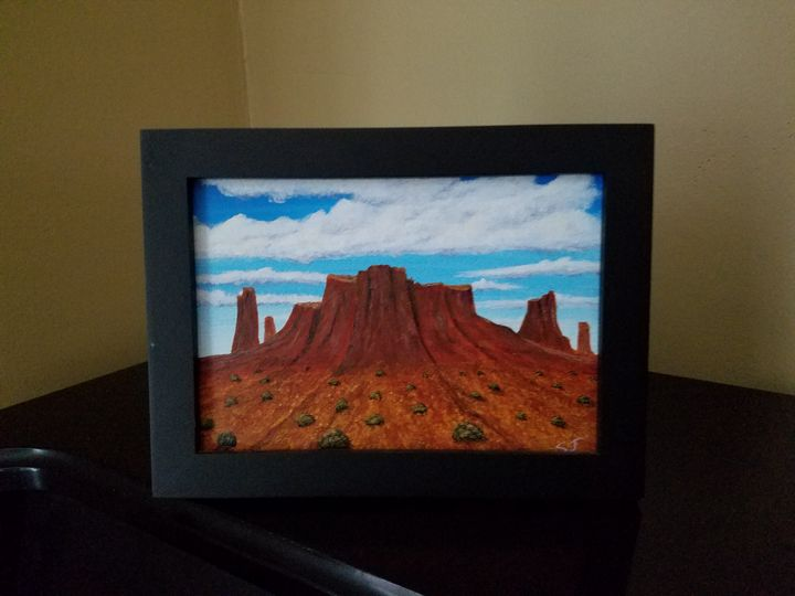 Southwest Butte - Steve Joseph Landscape Art