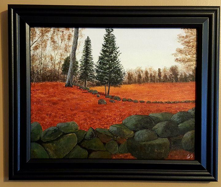 Fall in New England - Steve Joseph Landscape Art