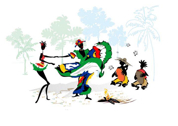 "Sega dancers - Michael Arnephie ""Island Life Seychelles"""