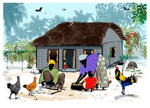 Island Life Old house seychelles