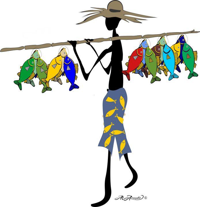 "Fisherman's cove - Michael Arnephie ""Island Life Seychelles"""