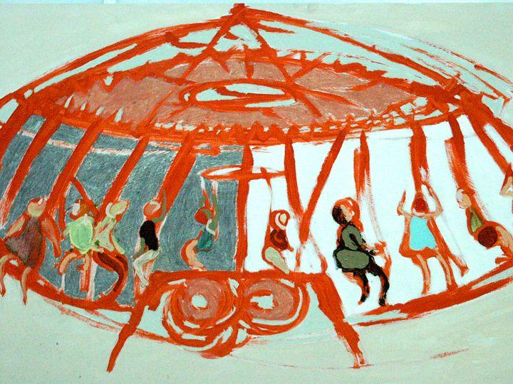 red go round - Cint Clare