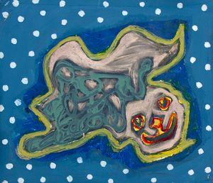 Dot Blob Blue - Cint Clare