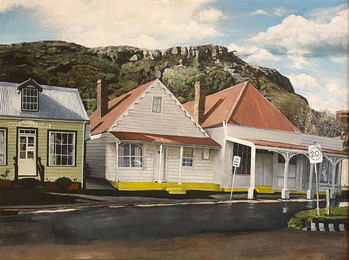 Stanley Main Street - Cint Clare